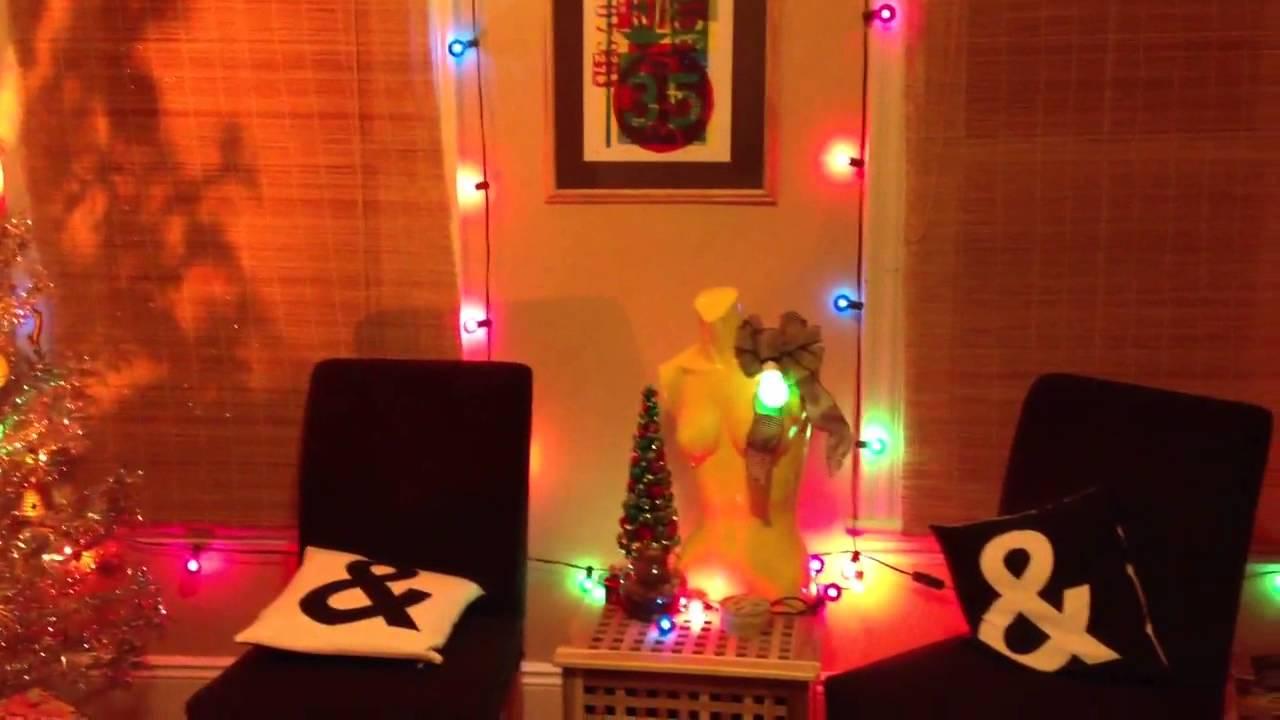 vintage christmas tree with rotating color wheel - Rotating Color Wheel For Christmas Tree