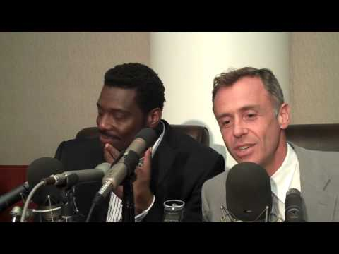 DAVID EIGENBERG w EAMONN WALKER ON PLAYING ERNEST LEHMAN IN 'LIZ AND DICK'.mp4