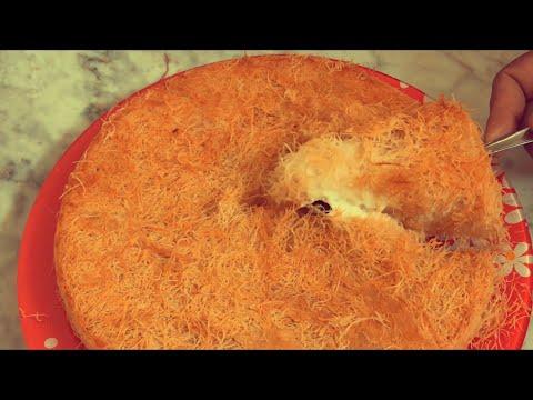 Kunafa Simple and Easy Recipe, Knafeh, Kunafah, Konafah, (കുനാഫ)