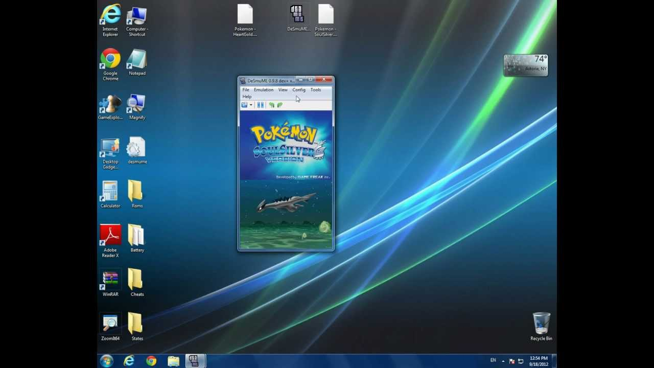How to download pokemon heart gold/soul silver for pc free no.