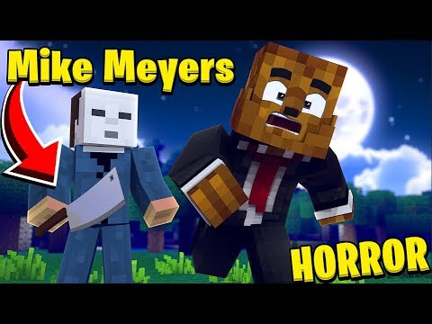 SAVE ME FROM MIKE MYERS! w/ TEWTIY & SABRE Minecraft - Mod Battle (MIKE MYERS)