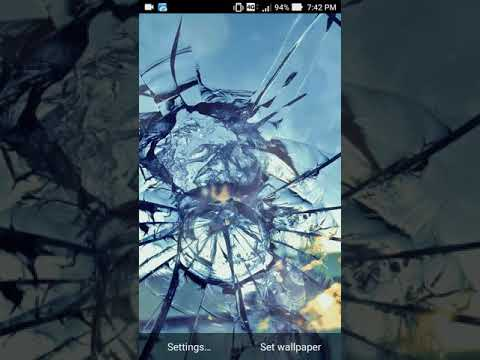 broken glass wallpaper for PC - latest version 2020 free download