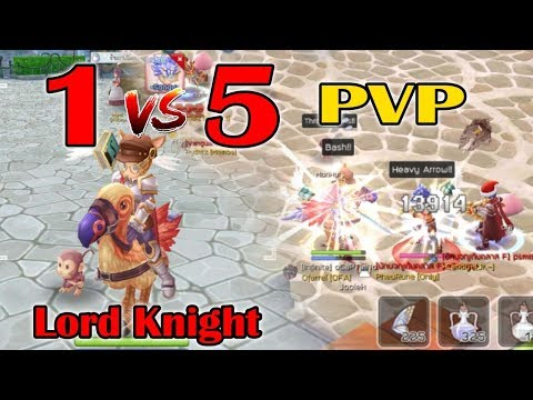 จัดLord Knight สาย Bash STR-VIT ลง PVP | Ragnarok M Eternal Love EP44