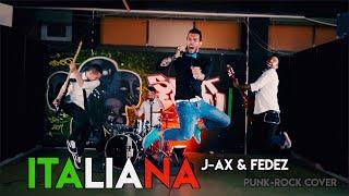 J-Ax e Fedez - Italiana - Punk Rock cover by Domani Smetto Band
