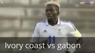 Video Gol Pertandingan Gabon vs Pantai Gading