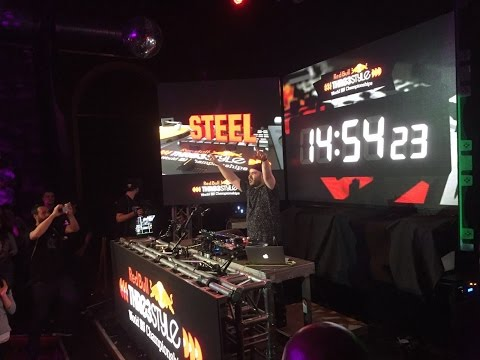DJ STEEL @ RED BULL THRE3STYLE 2016