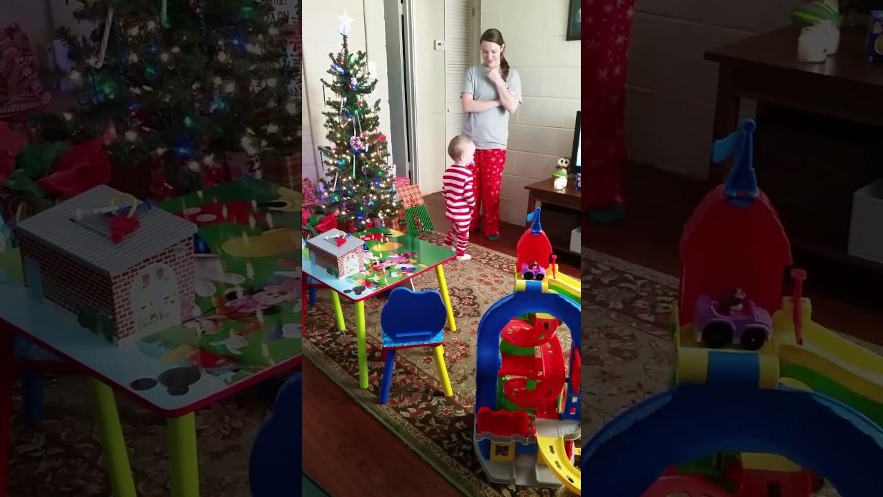 Odin Christmas morning Santa surprise - YouTube