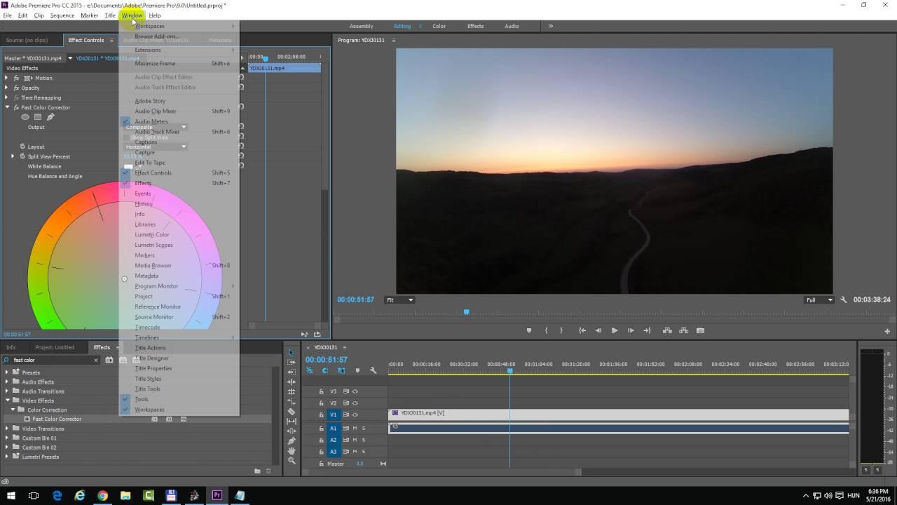premiere pro 32 bit color