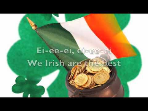We Irish: Dolly Parton lyrics video with slideshow
