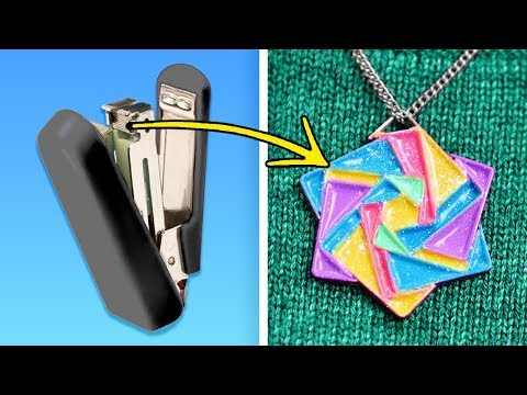 10 WONDERFUL DIY IDEAS WITH EVERYDAY ITEMS