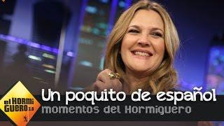 Drew Barrymore sorprende al público con su dominio del español - El hormiguero 3.0