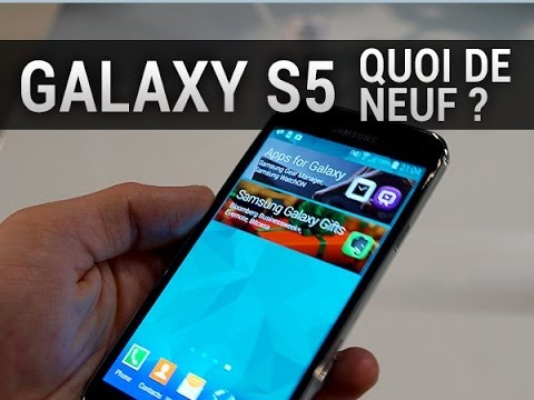 samsung galaxy s5 quoi de neuf fonctionnalit s youtube. Black Bedroom Furniture Sets. Home Design Ideas