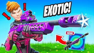Finding *EXOTIC* STORM SCOUT in Fortnite!