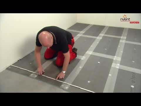 RAYCHEM T2Blue Underfloor Heating Cable Installation Guide (English)