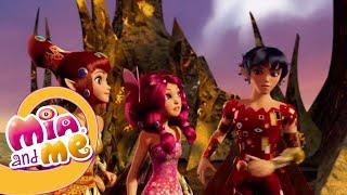 Мия и Я - 1 сезон 13&14 серия - Огненный единорог   Мультики для детей про эльфов, единорогов