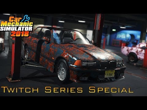 BMW E36 M3 Huge Repair! | Car Mechanic Simulator 2018 Gameplay | | Twitch Series Special