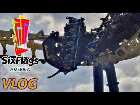 Fantastic Day At Six Flags America? | VLOG | July 2020