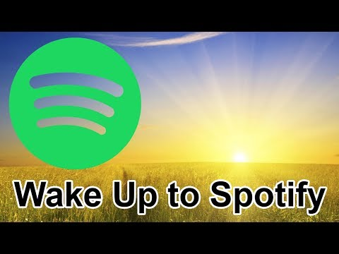 How to Wake Up To Your Spotify Playlist