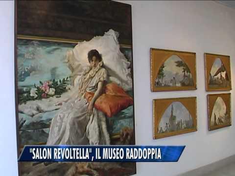 """""""SALON REVOLTELLA"""", IL MUSEO RADDOPPIA"""