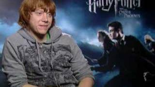 Rupert Grint and David Yates talk about casting Lavender
