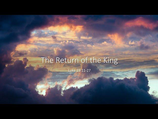 The Return of the King · 210221 · Pastor Jerome Pittman