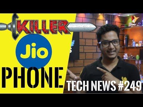 Tech News of The Day #249-Jio Phone Killer, Xolo Era 3 2v & 3x,Honor 7X,Galaxy J2 (2017)   Data Dock
