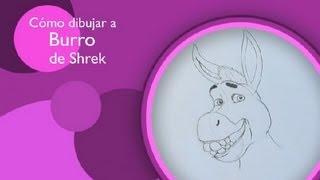 Cómo dibujar a Burro de Shrek : Aprende a dibujar a tus personajes favoritos 3