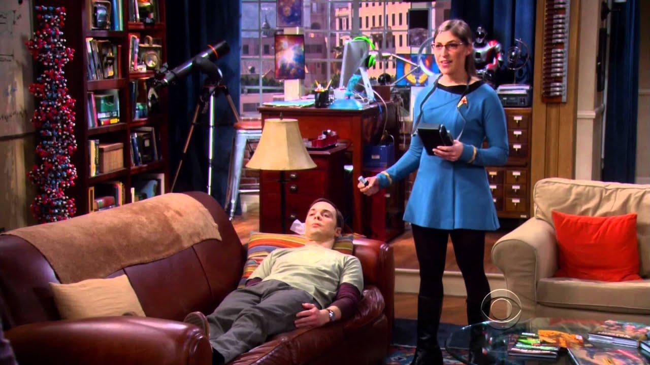 The Big Bang Theory - playin Doctor StarTrek style ...