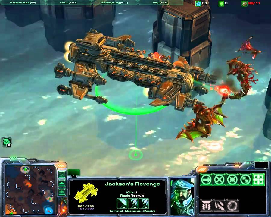 Starcraft Ii Terran Special Units Jackson S Revenge Hd