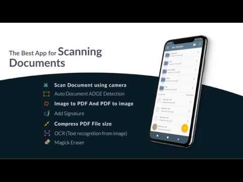 Free Mobile Document Scanner and PDF Creator App