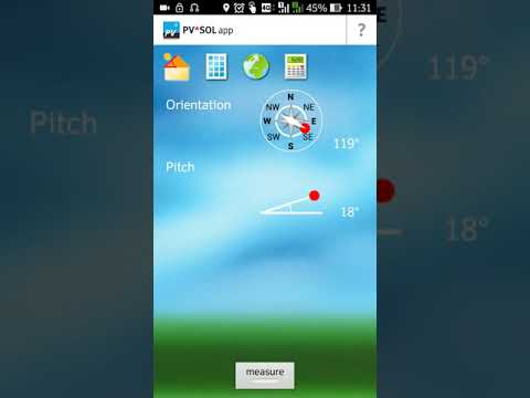 How to use Solar PV SOL App on Android Mobile for Fixed and Tracking PV Systems