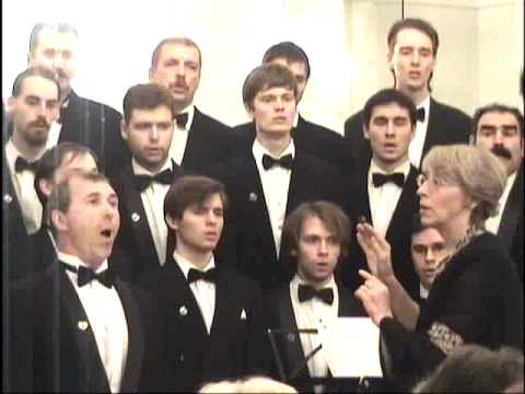 Schubert — Ave Maria (tenor + male choir)