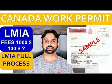 CANADA WORK PERMIT LMIA FEE 2019 | LMIA PROCESS | LMIA PROCESS TIME