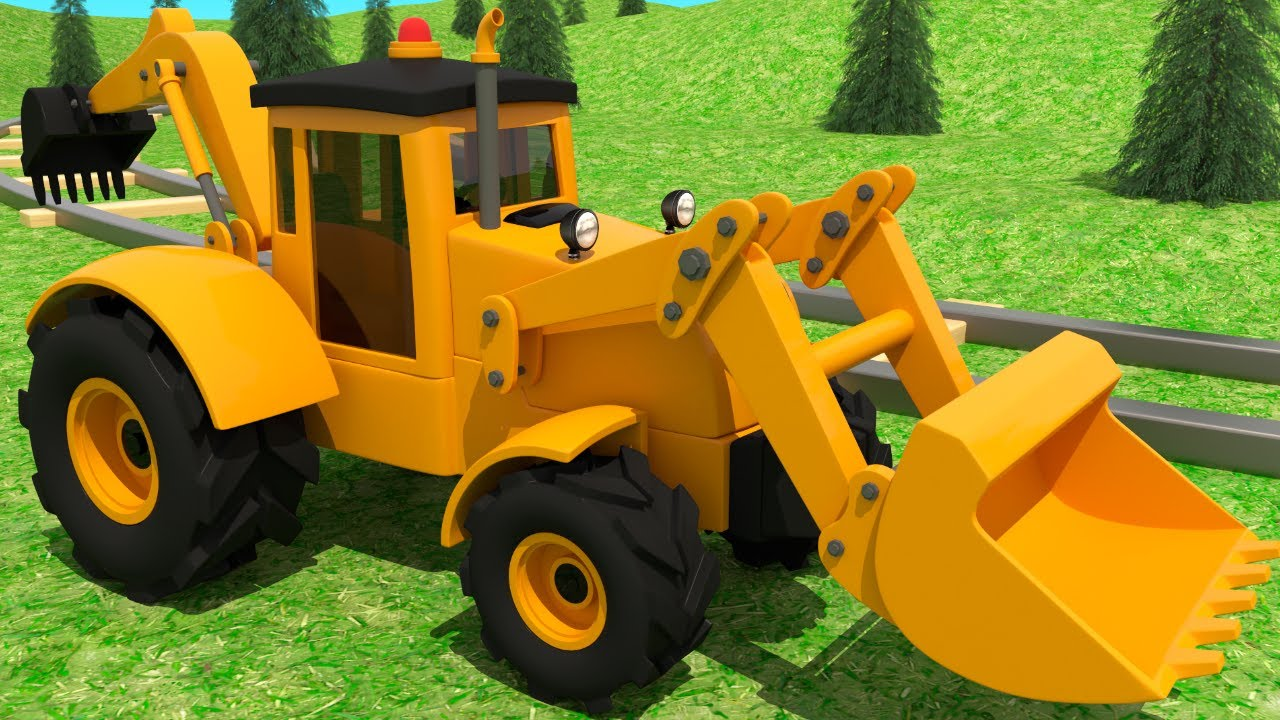 Learn about a Backhoe - Construction Vehicle Assembly