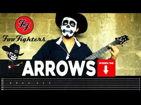 Foo Fighters - Arrows (Guitar Cover by Masuka W/Tab)