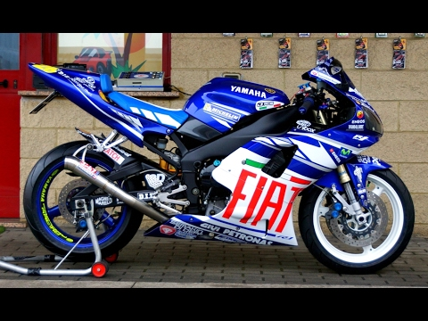 Yamaha R1 From Original To Motogp Replica Stickers Project Part 12
