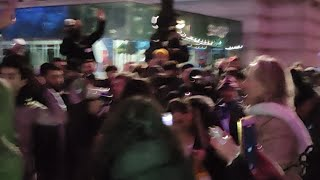NEW YEARS EVE ANTI LOCKDOWN PROTEST - REPLAY
