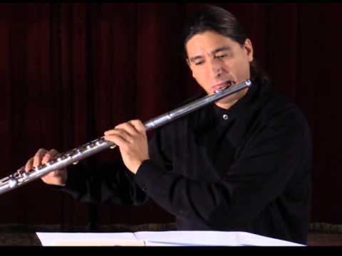 Patrice Fouillaud : Méditation II pour flûte en sol