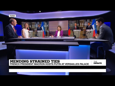 Mending Strained Ties: Macron hosts Putin at Versailles Palace (part 2)