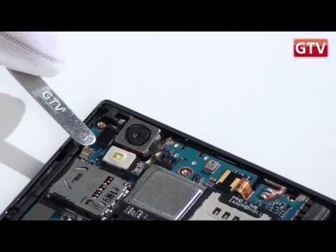 LG PRADA 3.0 P940 - как разобрать смартфон и из чего он состоит