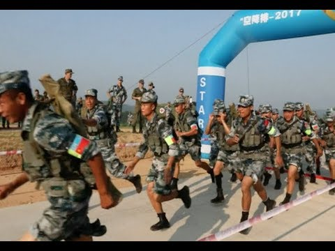 Chinese Airborne Forces Ranks Top on International Army Games 2017
