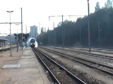 Le dernier train de Philippe en gare d'Evreux.