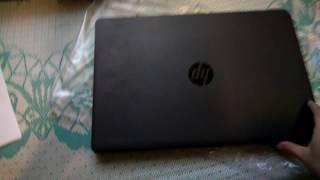 Розпакування ноутбука HP 250 G6 (2HG25ES) Dark Ash
