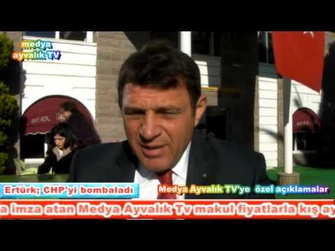 anadolu partisi myk üyesi ertürk chp yi bombaladi medya ayvalik tv suat salgin