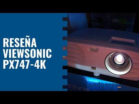 El mejor proyector 4K: Viewsonic PX747-4K (Review en español)