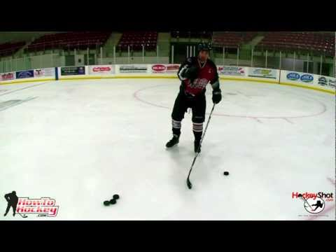 How to Take a Wristshot - On Ice Instruction