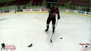 How to Take a Wristshot - On Ice Instruction