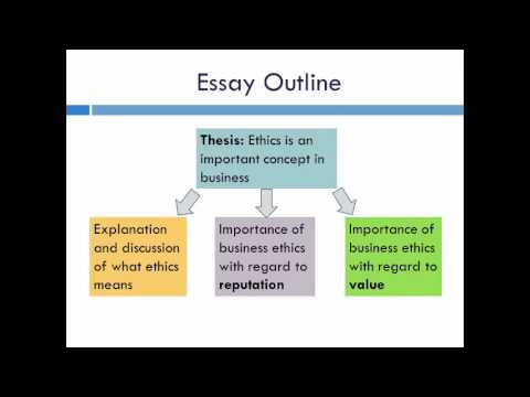 essay writing for business students