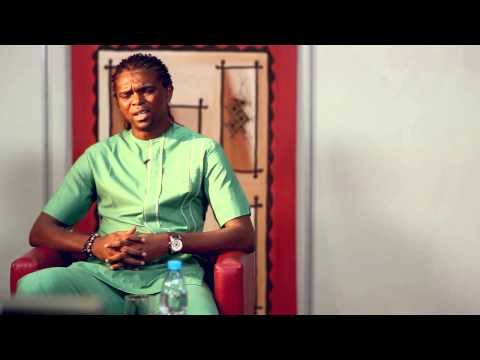 Kanu Nwankwo aka Papilo chats with fans during his debut Google+ Hangout