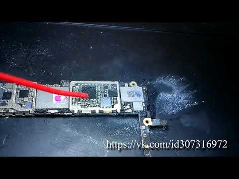 IPhone 6s не включается , не заряжается , ремонт телефона